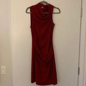 Light-weight wool Helmut Lang dress